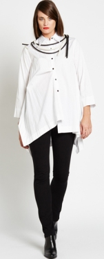 E2153.1637 side point shirt N1764.1658 ponti pant