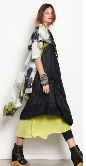 1980/2356 Asymm duster 1698/1736 Pleat front dress N1710XL/1800 XL Sheer slip N1614/949 Capri pant (rolled)