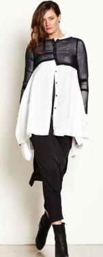 E2094.1725 crop cardi top E2053.1637 nehru swing shirt NWK011 long split tunic E1614.504 capri pant (rolled)