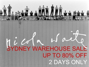 Nicola Waite warehouse SYDNEY