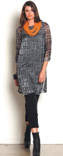 1858.2784 split layer dress NWK011 long split tunic N1764.1658 ponti pant